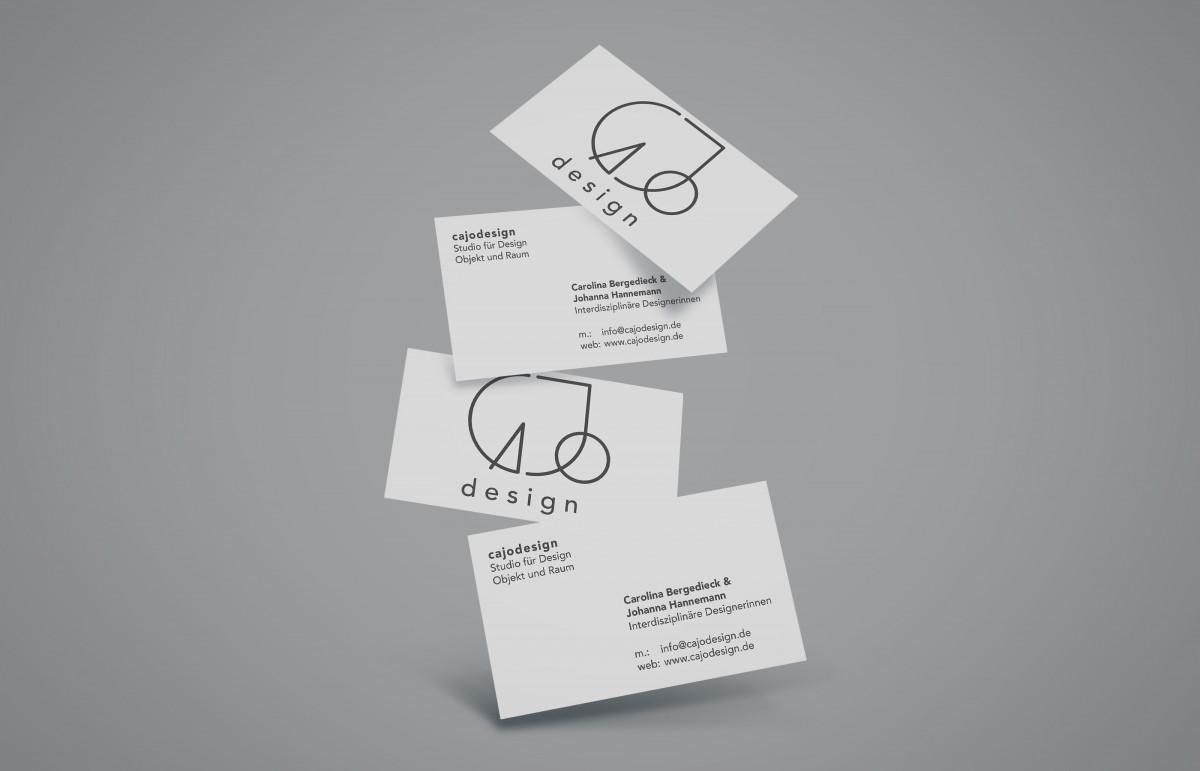 Visitenkarten von cajodesign