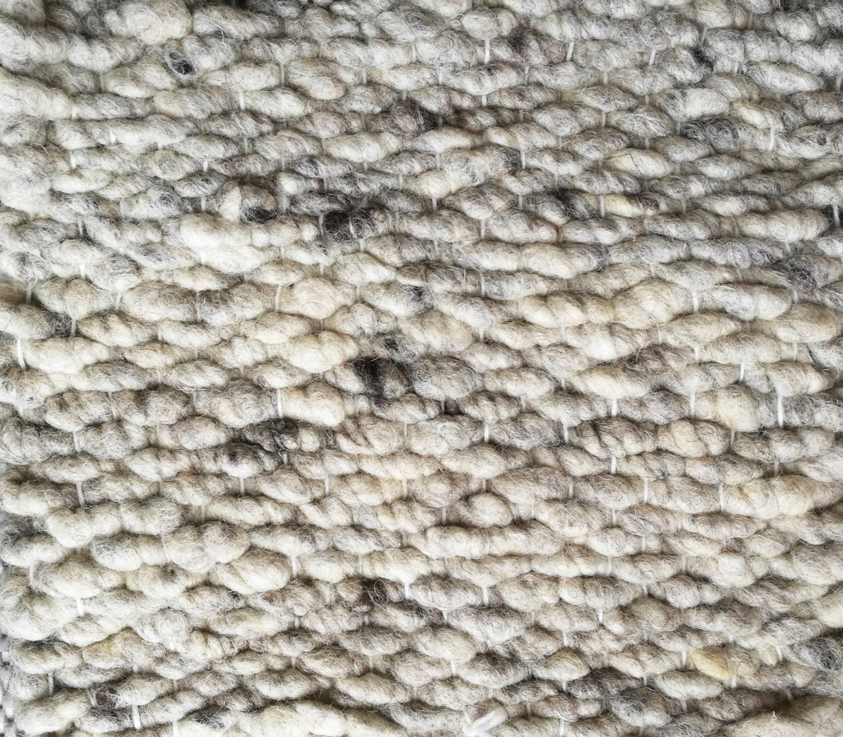 Gewebte Wollfläche